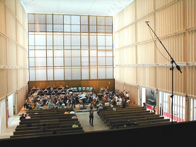 Das Münchner Rundfunkorchester in der Herz-Jesu-Kirche mit Marcelloi Viotti